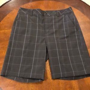 Under Armour Performance Plaid Shorts Size 32R